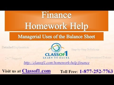 managerial uses of balance sheet finance homework help by managerial uses of balance sheet finance homework help by classof1 com