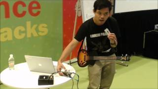Arduino Pedal Shield Guitar Effects Presentation - Science Hack Day