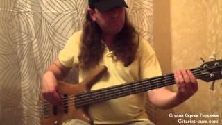 Уроки игры на бас-гитаре. В духе jaco pastorius.Видео урок