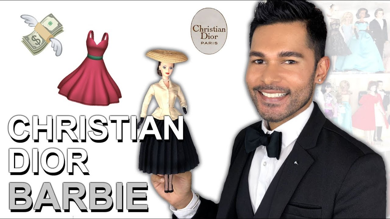 CHRISTIAN DIOR Barbie Doll - Barbie Collector - Review