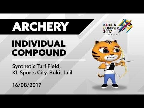 KL2017 29th SEA Games   Archery - Men's/Women's Individual Compound