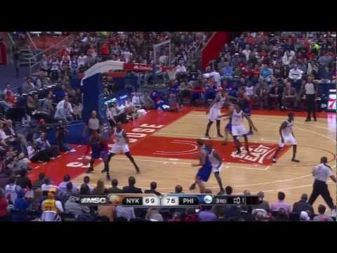 [10.22.12] Carmelo Anthony - 23 points vs 76ers (@ Syracuse) (Full Highlights)
