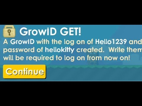 Growtopia - How to make Grow ID for free