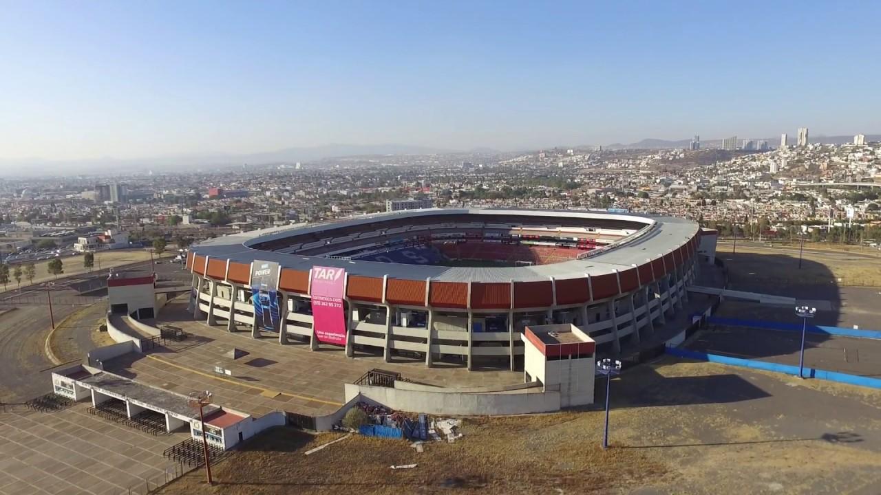 Estadio Corregidora de Querétaro desde el aire - YouTube cfdb680bc0c03