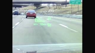 New GM Head Up Display uses lasers to augment entire windshield