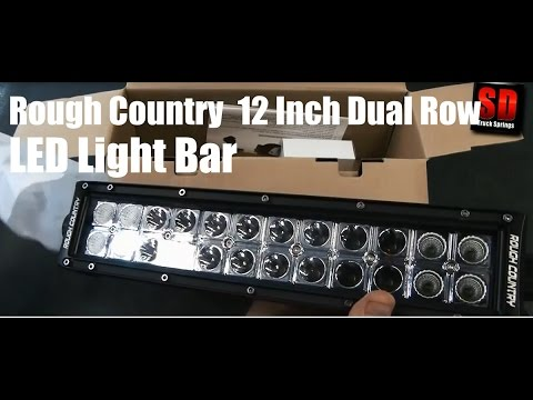 country 12 inch dual row cree led light bar lighting 89867