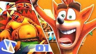 THE CORTEX PLAN! - Crash Bandicoot N. Sane Trilogy - Part 1 (Nintendo Switch)