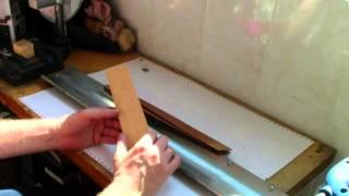 Отделка автомобиля деревом. Планки на панель и двери.(В этом видео я показал процесс изготовления шпонированной полукруглой планки для различного применения.По..., 2015-04-26T09:04:22.000Z)