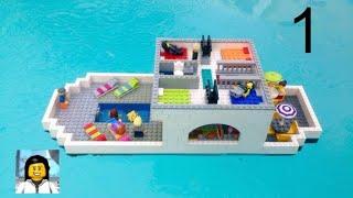 Como Construir um Cruzeiro de Lego - parte 1