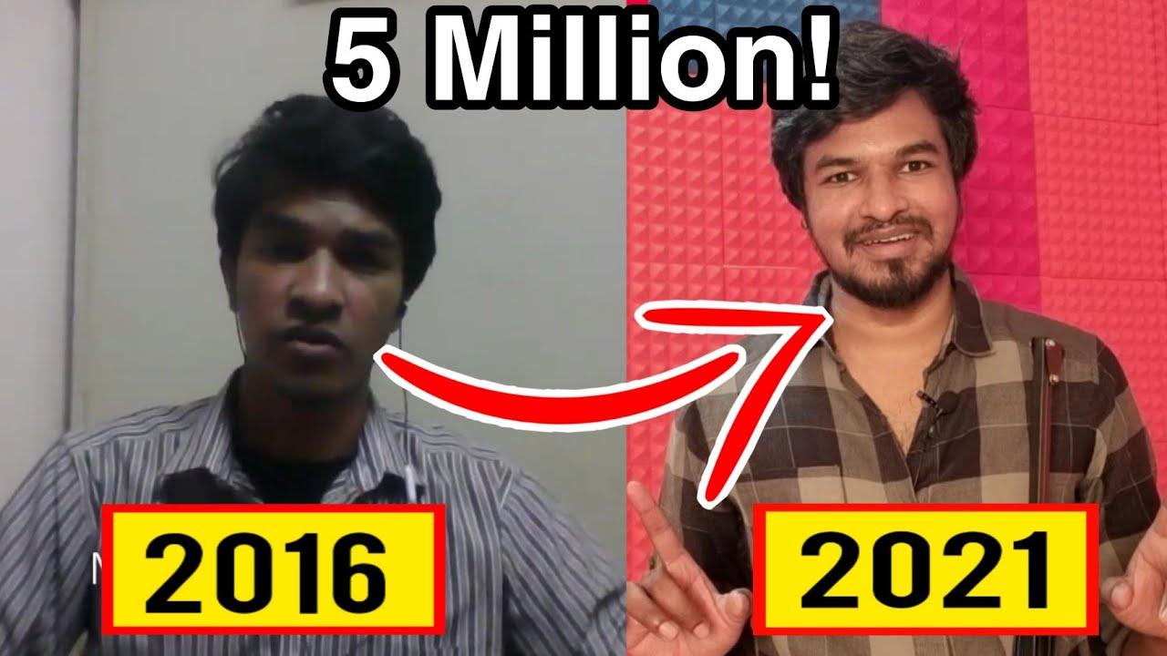 Download 5 Million Subscribers ❤️ Emotional! | Tamil | Madan Gowri  | MG