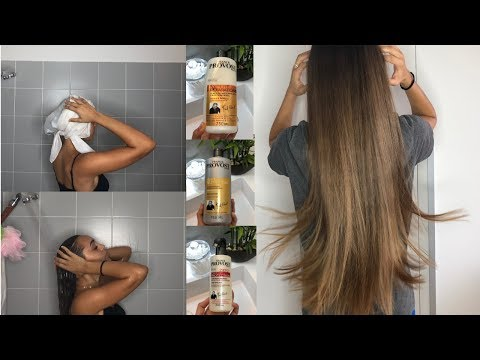MA ROUTINE CHEVEUX LISSES 🙆🏼