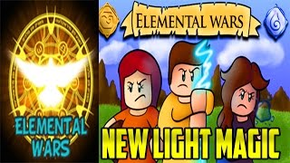 Roblox | New Light Magic | Elemental Wars #4 | iBeMaine