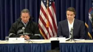 Governor Cuomo and Federal, State, and City Officials Hold Storm Briefing