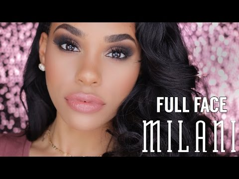 FULL FACE USING ONLY MILANI MAKEUP