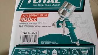 TOTAL air spray gun TAT10401 - 400CC SÚNG PHUN SƠN TOTAL TAT10401