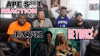 BEYONCE & JAY Z (THE CARTERS) - APESHIT OFFICIAL VIDEO REACTION/REVIEW