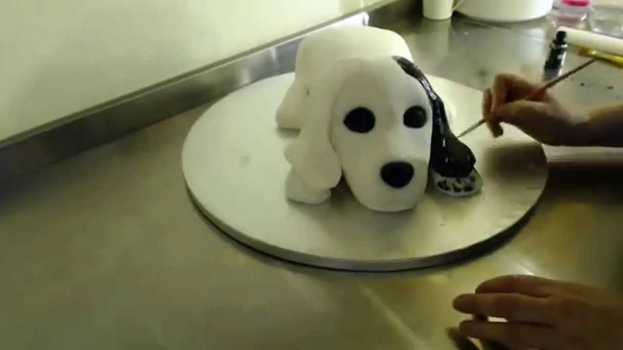 How To Make A Spaniel Cake