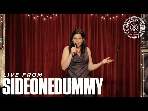 Kira Soltanovich at the SideOneDummy Storytellers Show