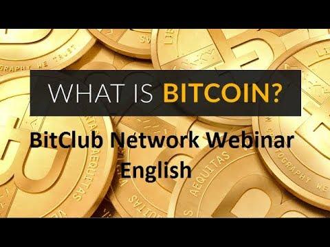 Bitcoin Webinar English