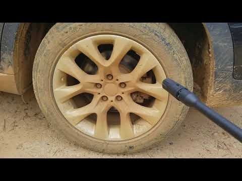 Portland Pressure Washer - Cleaning my 2013 BMW X5 E70 Wheel