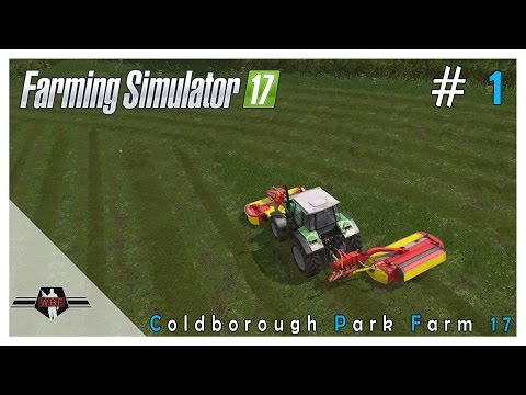 MOWING, RAKING & BALING! - Coldborough 17 - Farming Simulator 2017
