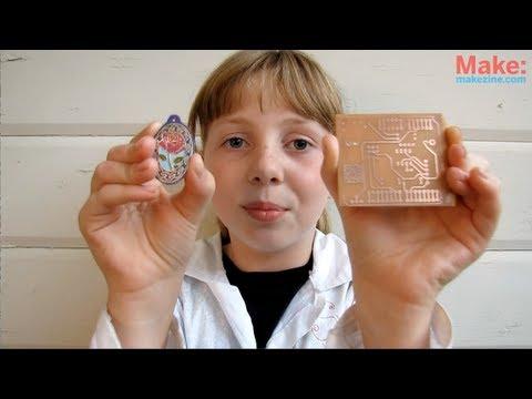 Super Simple Copper Etching -- Sylvia's Mini Maker Show