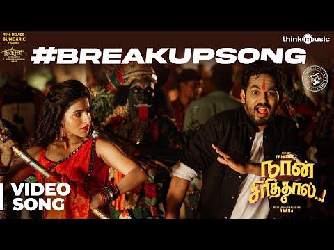 Naan Sirithal   Breakup Video Song   Hiphop Tamizha   Iswarya Menon   Sundar C   Raana