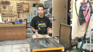 55 - How To Setup & Tune A Tablesaw (part 1 Of 2)