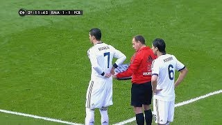 When Cristiano Ronaldo Gets Substituted & Shows His Class
