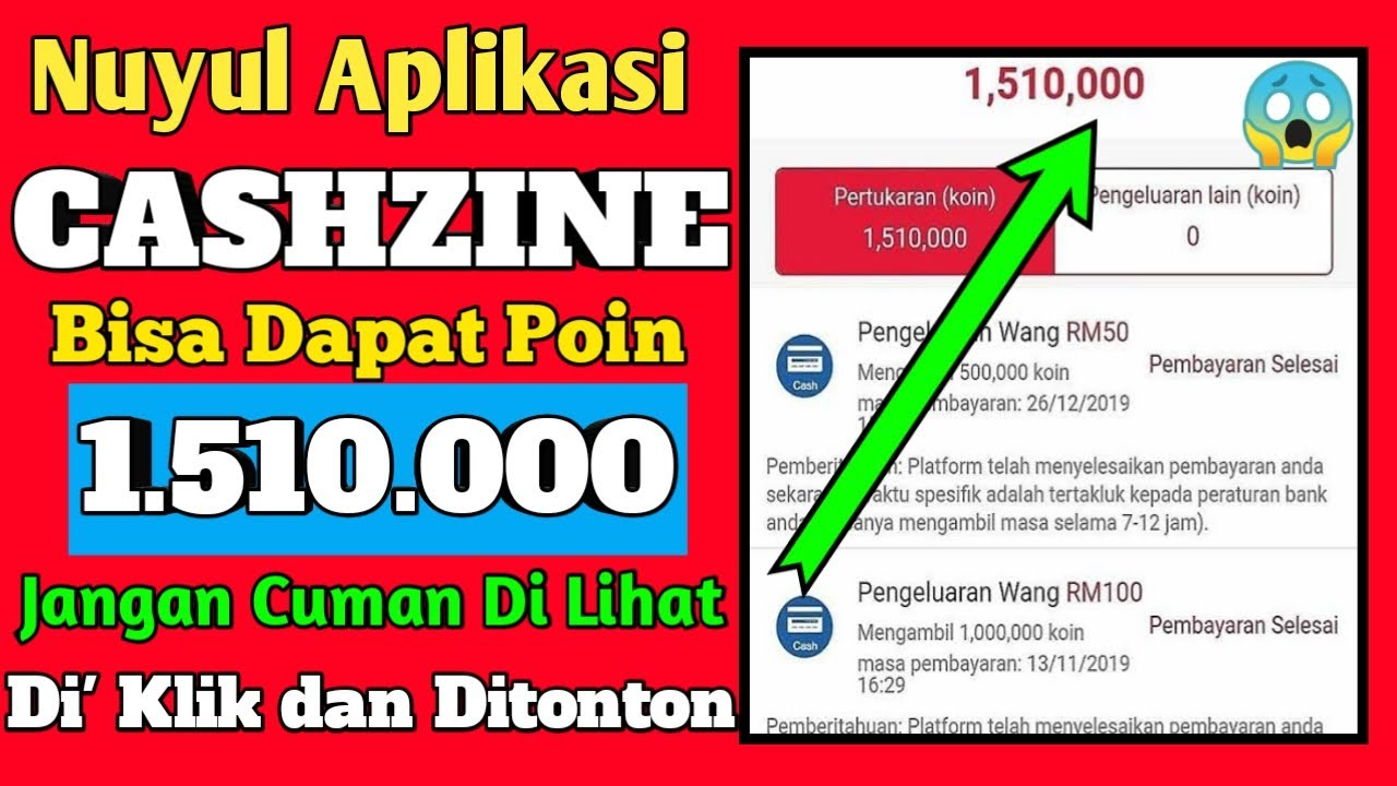 Trik Cara Cepat Kumpulin Koin di Aplikasi Cashzine ...