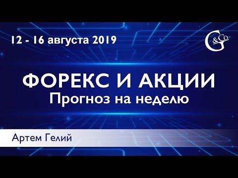 Прогноз форекс на неделю: 12.08.2019 - 16.08.2019