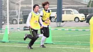 前園真聖氏が鹿児島予選参加チームを激励 アットホーム f5wc football fives japan 鹿児島フットサルポイント鹿児島予選大会