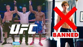 Logan Paul BANNED from Fighting in UFC 'That guy would get murdered'