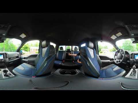 2019 ford f 150 raptor 4x4 supercrew interior 360 video