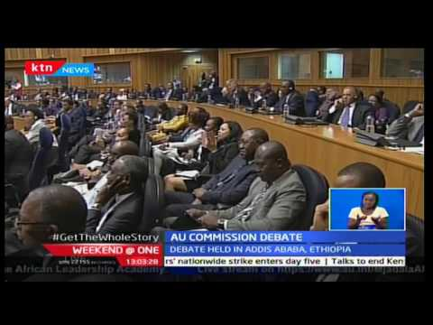 Weekend at One: Foreign affairs CS Amina Mohammed is among candidates vying for AU Chairperson