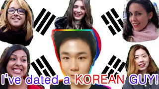 Repeat youtube video 한국남자와 사겨본 외국여자 What's it like dating a Korean guy?