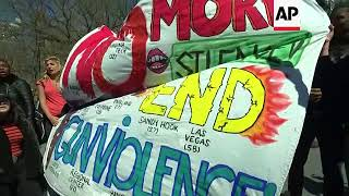 Students Rally in NY Against Gun Violence