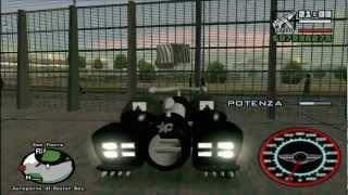 GamePlay GTA San Andrea con mods! - L'auto più veloce al mondo - Teletrasporto - Volo e molto altro
