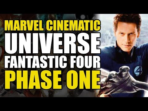 The MCU Fantastic Four: Phase One