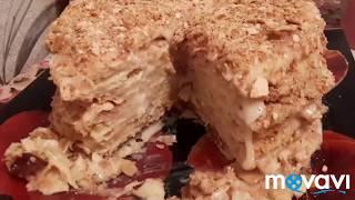 Мой рецепт классического торта Наполеона/чаепитие/влог