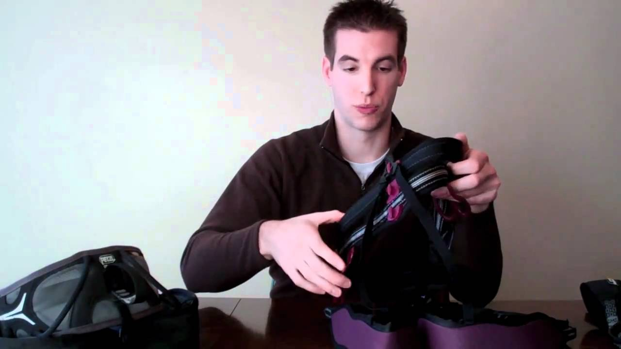 Petzl Klettergurt Calidris : Petzl calidris harness review youtube