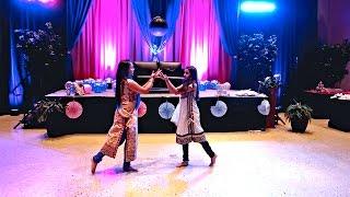 Janki & Siya Dance Performance at Charita's  Baby Shower 2015