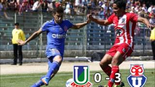 Union La Calera 0 - 3 Universidad de Chile Apertura 2013 (ADN Radio Chile)