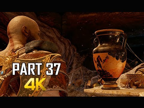 GOD OF WAR Gameplay Walkthrough Part 37 - SPARTAN TREASURE (PS4 PRO 4K Commentary 2018)