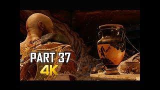 GOD OF WAR Gameplay Walkthrough Part 37 - SPARTAN TREASURE (PS4 PRO 4K Commentary 2018)