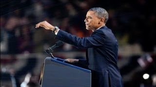 Barack Obama Re-election Victory Speech after defeating Mitt Romney