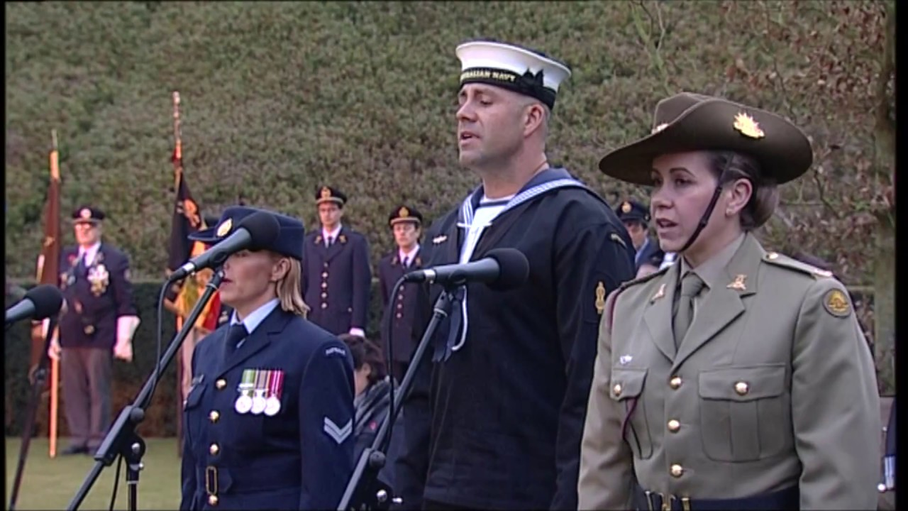 ANZAC Day 2015 Dawn Service at Polygon Wood (Flanders Fields)