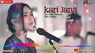 #KARI JANJI -NELLA KHARISMA BIKIN BAPER(OFFICIAL LIRIK)
