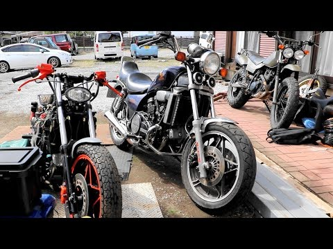 モアマグナ!書類がない★謎のⅤ型4気筒エンジンのバイクをレストア#7