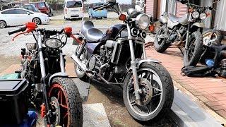 モアマグナ!書類がない★謎のⅤ型4気筒エンジンのバイクをレストア